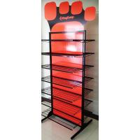 China Professional Double Sided Metal Floor Display Stands for Clothes / Shoes on sale