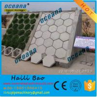 Hexagonal concrete paver mould for River, railway,highway ,mountain SLOPE protection 20x40 Manufactures