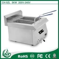 China Temperature Control Electromagnetic Deep Fryer on sale