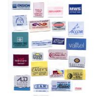 woven tag for denim / casual clothing Manufactures