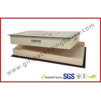 China Customized Europe Lid and Base Apparel Gift Boxes , Christmas Gift Packages on sale
