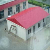 China Beautiful Sandwich Panel Prefab House Portable Emergency Shelter on sale