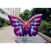 Customized Inflatable Butterfly Wings Costumes for Halloween Party and Stage Manufactures