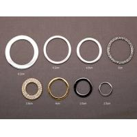 China O - Ring OEM Metal Zinc Alloy Lady Clothes Shoes Belt Buckles on sale
