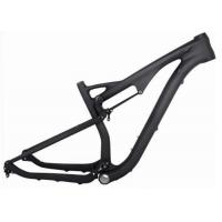 Toray 700 29 Mtb Full Suspension Frame , Carbon Fiber Bicycle Frame For Cycling Race