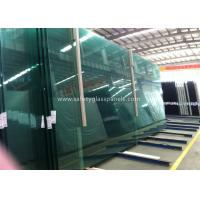 China Fire Proof Safety Laminated Glass Curtain Wall / Stairs Safety Glass Panels wholesale