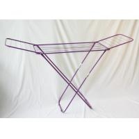China 20M Internal Wire Metal Clothes Drying Rack Cloth Dryer Stand Foldable on sale