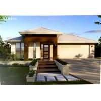 Customized Prefab Bungalow Homes Light Gauge Steel Material For Living Manufactures