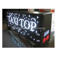 4G WIFI USB Full Color Taxi LED Display Screen , 3500CD Digital Taxi Top LED Display Manufactures