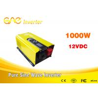 Buy cheap Low frequency off grid inverter single phase dc to ac 12v 220v pure sine wave 1000w inverter from wholesalers