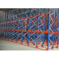 Q235 Q345 Steel Pallet Racks Radio Shuttle Racking Optimizing Space Networking Control Manufactures