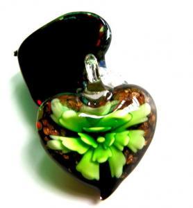 China Murano Glass Heart Pendant (0009H12) on sale