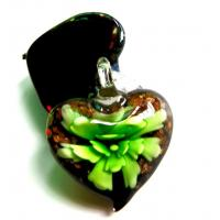 China Murano Glass Heart Pendant (0009H12) on sale
