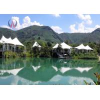 Fantastic Light Luxury Tent Hotel Prefabricated Building Rock Wool Insulation Manufactures