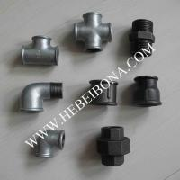 Galvanized and black malleable iron pipe fittings Manufactures