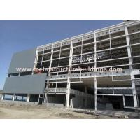 China Q345B Heavy Structural Steel Fabrication Modern Designed Easy To Erection on sale
