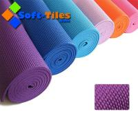 Cheap PVC yoga mat 173*61CM 6mm thickness Quality assured Manufactures