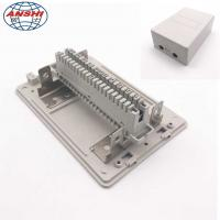 China Network Indoor Distribution Box 10/20/30 Pair Telephone Module Surface Mounting insert Type on sale