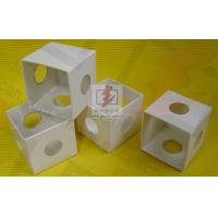 White Cardboard Folding Gift Boxes With Pvc Window , Folding Paper Boxes Manufactures