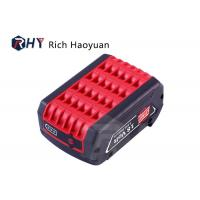 China 18V 5000mAh Power Tool Lithium Ion Battery , Bosch Cordless Drill Battery Replacement on sale