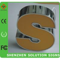 China frong acrylic lighting  led outdoor sign on sale