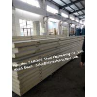 Chinese Sandwich Panel Supplier For Polystyrene PU Metal Camlock Panels Of Cold Storage 100mm Thickness Manufactures