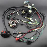 China Loom Gy6 Engine Wiring Harness Universal Harness Kit With Mouse Style Switch on sale