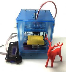 1.75mm PLA Wood FDM Fused Deposition Kids 3D Printer For Toys Modeling Manufactures
