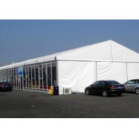 China Glass Walls Outside Party Tents Wedding , Glass Doors Amusement Park Tent on sale