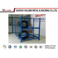 metal Steel Adjustable 4S Auto Store Tire Storage Rack Loading Capcity 1000kg Manufactures