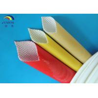 High Temperature Fiberglass Polyurethane Sleeving for F Grade Electrical Machinery Manufactures