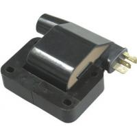 Car Engine Ignition Coil , Black Epoxy Resin 12V Dry Electronic Ignition Coil