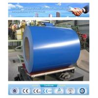 China prime quality blue Ral 5005 0.42mm*1250 prepainted galvalume steel coil on sale