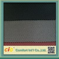 Waterproof Polyester Mesh Fabric For Mattress Motorcycle Seat Cover , 600D*300D Density Manufactures