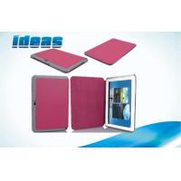China Flip Tablet PU Leather Case / Samsung Galaxy Tablet 10.1 Cover on sale
