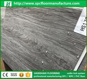 Waterproof eco Homogeneous PVC Viny lPlank Sheet Flooring With Floorscore Manufactures