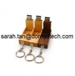 China Wooden Foldable USB Flash Drives, 100% Real Capacity USB Memory Sticks on sale