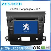 China ZESTECH customize fit car dvd touch screen gps car multiemdia for Peugeot 4007 Car DVD with gps navigation on sale