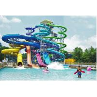 Adult Fiberglass Spiral Water Slide Closed Tube Extreme Water Slides Manufactures