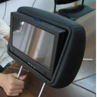MP3 WMA Taxi Car Seat LCD Screen For Advertising , LCD Display Panel