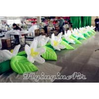 China Hot Sale Inflatable Flower Chain with Blower for Wedding Decoration wholesale