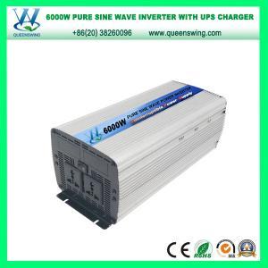 China UPS Pure Sine Wave 6000W Inverters Solar Converter (QW-P6000UPS) on sale