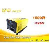 China ONE dc ac 110v 220v off grid solar inverter pure wave inverter 3000w 24v with charge wholesale