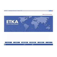 China ETKA Electronic Catalogue V7.5 Automotive Scan Tool Software For Audi VW Seat Skoda on sale