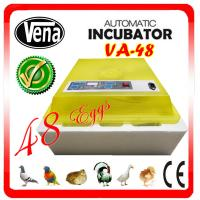 Full automatic make chicken egg incubator VA-48II for sale Manufactures