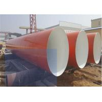 China Large Carbon Steel Anti Corrosion Pipe / Length 5.8m-12m Round Metal Pipe on sale