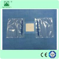 disposable eye drape with hole,3M incision film and fluid pouch