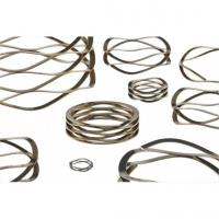 China Reliable Overlap Wave Springs Rotating Inner Ring Sandblast / Powder Coating wholesale