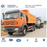 WEICHAI engine 340hp & 380hp North Benz Dump truck for sale, competitive price North Benz 6*4 LHD dump tipper truck Manufactures