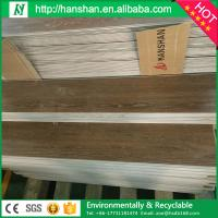 "4mm best Commercial Glossy Waterproof formaldehyde-free Click Lock 9""*48"" Vinyl floor tile Manufactures"